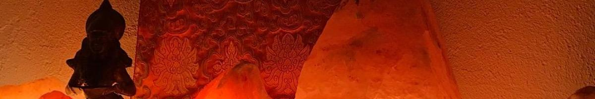 Lampe de sel de l'himalaya