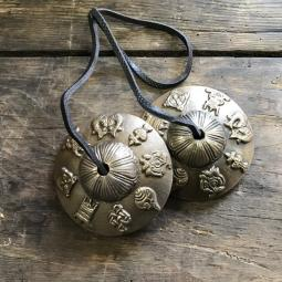 Tingsha symboles tibétains